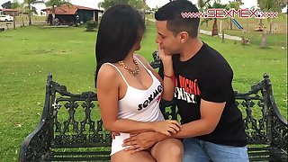 Silvia santez mexican brunnete whore bonks a man this babe just met @sexmexnetwork