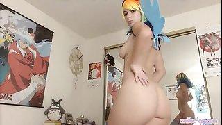 Girl cosplay