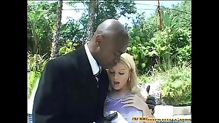 Blonde legal age teenager anal and double penetration with 2 large dark schlongs
