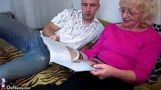 Oldnanny old granny is very very lustful and soaked