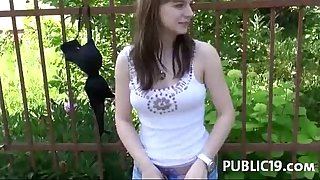 Sexy slutwife can't live without to fuck strangers