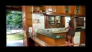 Spanish hotwife bonks in the kitchen xvideoscom