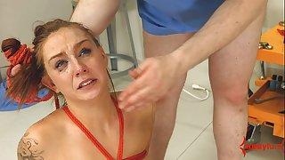 Face slapped mental patient