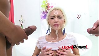 Olivia divine void urine drinking bitch dp'ed (3on1 mini team fuck & pee drinking) sz654
