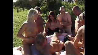 Swingers group sex sex fuckfest