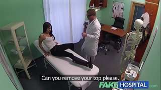 Fakehospital youthful woman with mind boggling body caught getting screwed by doctor