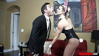 Whore black cock sluts - cuck hubby cory follow ballbusting