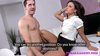 Femaleagent lewd sex starved recent agent