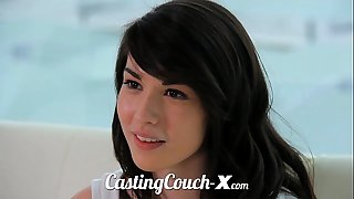 Casting couch-x high school chicks begin in porn