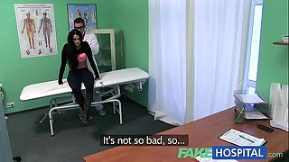 Fakehospital taut hawt juicy patient groans with enjoyment