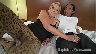 Granny receives vagina pounded with large dark wang until shes sore