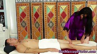 Massage playgirl sucks rods