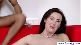 Mature nylons with taut gazoo screwed in sexy high def
