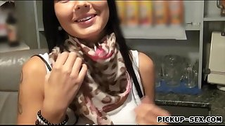 Skanky large milk shakes receptionist nadine pounded for specie
