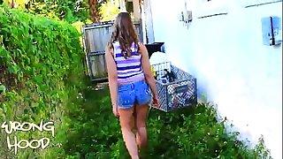 Hannah wrong hood social(full video)-quarter 4 of 4