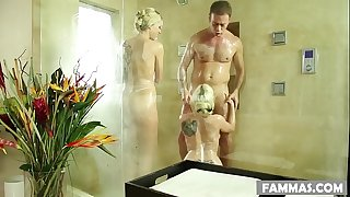 Rocco fucked right into an asshole nuru masseuse step sisters zoey monroe and christie stevens