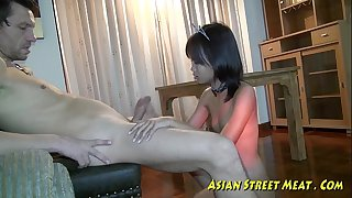 Small tittie thai black cock sluts buggered up botty