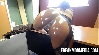 Armani sticky's large dark wazoo acquires fucked by bbc