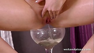 Wetandpissy - greatly sexy pissing from consummate czech housewife