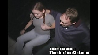 18yo hard knox ho drilled in xxx theater!