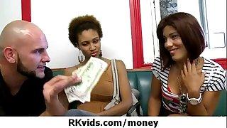 Horny hotwife getting drilled for cash twenty
