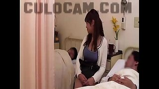 Hospital role play exhibitionist oral pleasure large oriental bazookas