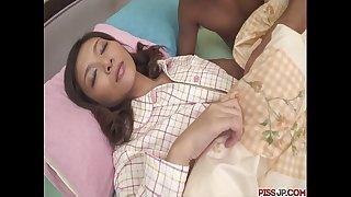 Nasty and pervert black haired hottie minako uchida