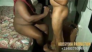Black African Babe Fucked By Popular Nigerian Pornstar (Nollywood Homemade Porn) - NOLLYPORN