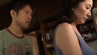 Oriental MILF Cant Thumb one's nose at The brush Stepson