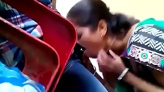 Indian mom sucking his son weasel words caught in place off limits camera