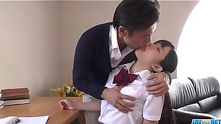 Wretched school hard lady-love for better grades with Yui Kasugano - More at javhd.net