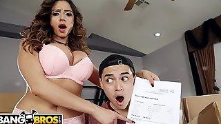 BANGBROS - MILF Ariella Ferrera'_s Step Son Juan El Caballo Loco Is In Trouble!