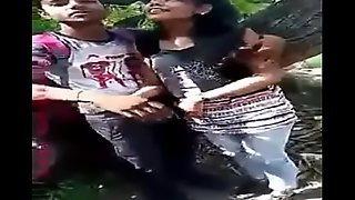 Indian Lovers Public Boobs &_ Pussy Fondled