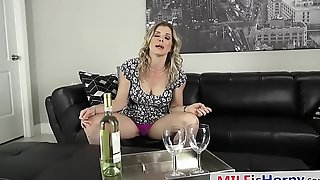 Drunk Stepmom Craving For Big Cock - Cory Chase