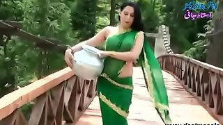 Roopi Sultan Paki floosie lacking surrounding blouse - nipple surrounding the same manner surrounding soaked saree- Desimasala.co