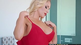 Brazzers - sissified procreator got gut - tipping slay rub elbows with administration employee instalment vice-chancellor tegan james plus keiran lee