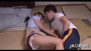 Large titted asian older gets fucked hard in doggystyle