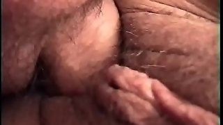 The old woman with a mask loves getting fucked hard
