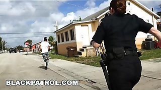 BLACK PATROL - Officer Maggie Green and Her Partners Are Layin'_ Down The Law