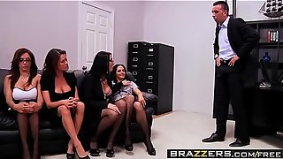(Ava Addams, Francesca Le, Vanilla Deville, Veronica Avluv, Keiran Lee) - Office 4-Play - Brazzers