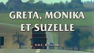 Greta, Monika Et Suzelle (1980) Dominique Saint Claire_ Brigitte Lelaurain_ Flore Sollier