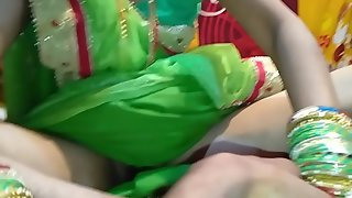 just married bride Saree in full HD desi  video home mast  chudai Hindi